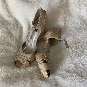 White House Black Market shoes (worn once)